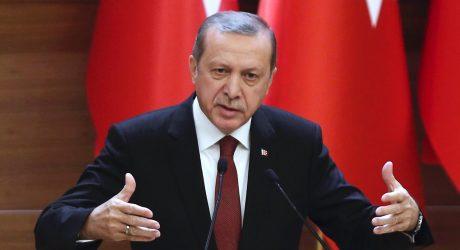 Turkijos prezidentas: Rusijos kaltinimai, kad turkai veršis į Siriją, juokingi