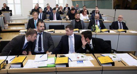 Vokietijos populistinė partija pereina prie antiislamiškos darbotvarkės