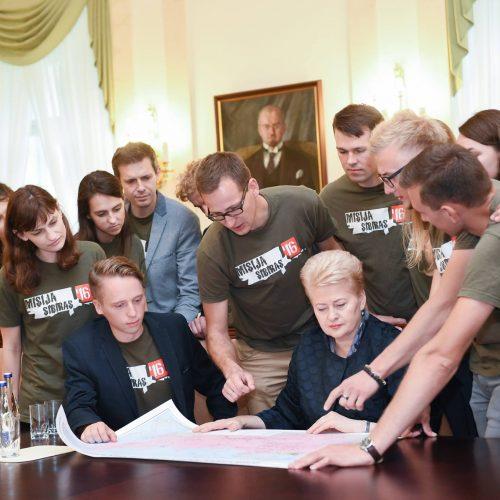 8-ųjų D. Grybauskaitės prezidentavimo metų akimirkos