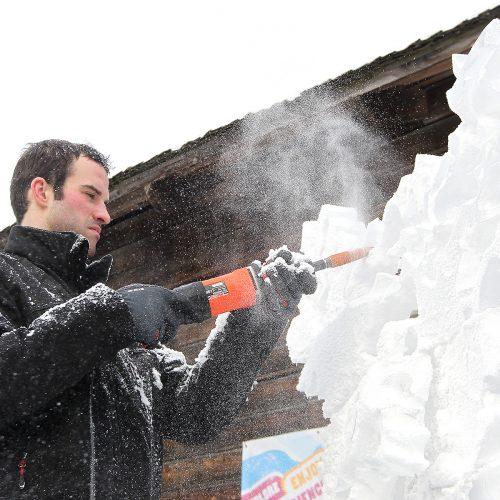 Pasaulinė sniego diena Pažaislyje