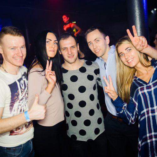 "Karštas vakarėlis ""Taboo"" klube"