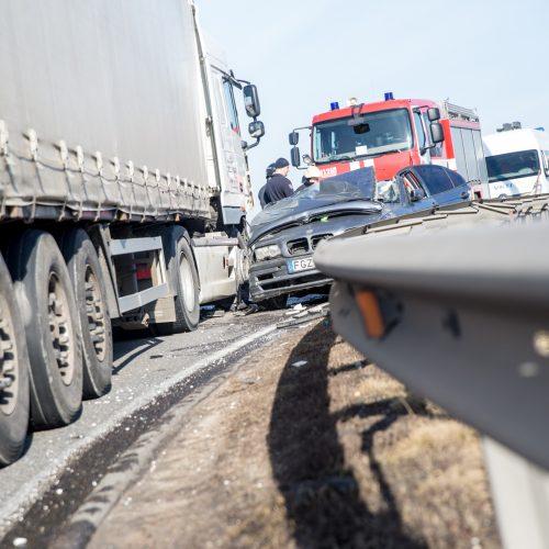 Tragiška avarija ant Garliavos viaduko