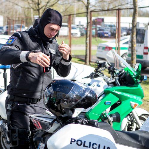 Kauno policijos motociklų reidas