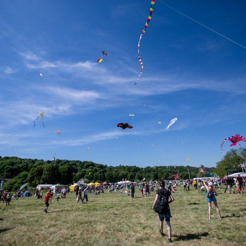 """Aitvarų festivalis """"Tarp žemės ir dangaus""""  © Vilmanto Raupelio nuotr."""