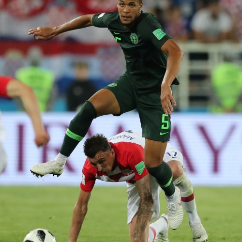 Kroatijos futbolininkai nugalėjo Nigeriją