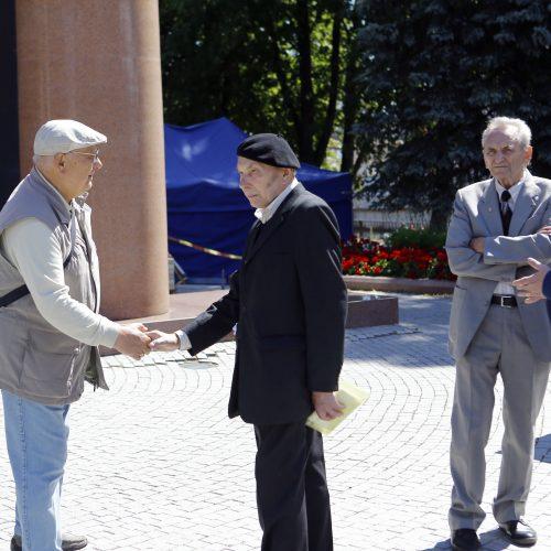 Klaipėdoje minimas Sąjūdžio trisdešimtmetis  © Vytauto Petriko nuotr.