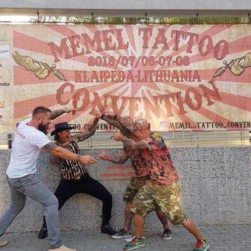 Memel Tattoo festivalio svečiai  © Organizatorių nuotr.