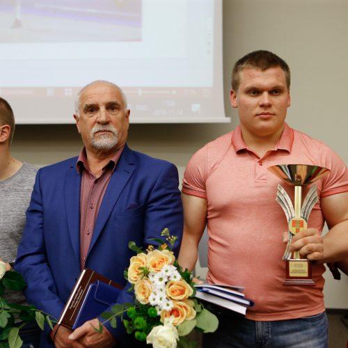 KU geriausių studentų sportininkų pagerbimas  © Vytauto Petriko nuotr.