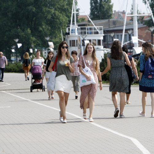 Liepos 18-oji Klaipėdos diena  © Vytauto Liaudanskio nuotr.