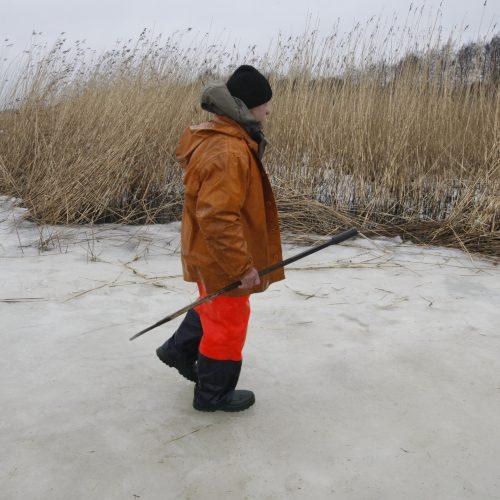 Žvejai ant ledo  © Vytauto Liaudanskio nuotr.