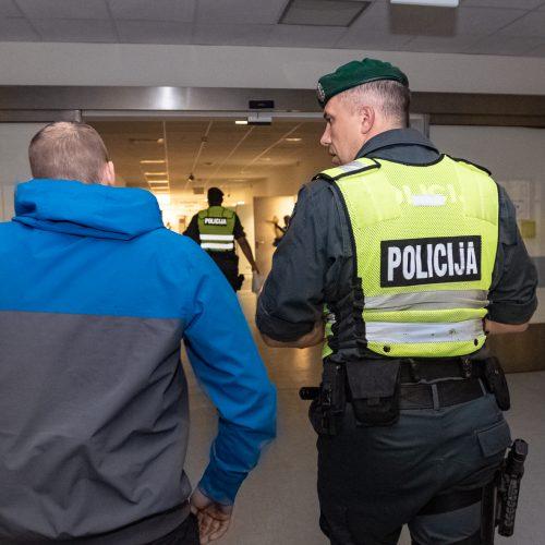 Joninės su Kauno policija  © Eitvydo Kinaičio nuotr.