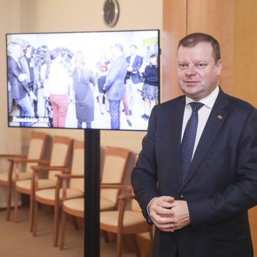 Premjero pusryčiai su žurnalistais  © M. Morkevičiaus / ELTOS nuotr.