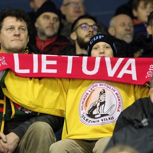 Ledo ritulys: Lietuva – Estija 6:3  © Evaldo Šemioto nuotr.