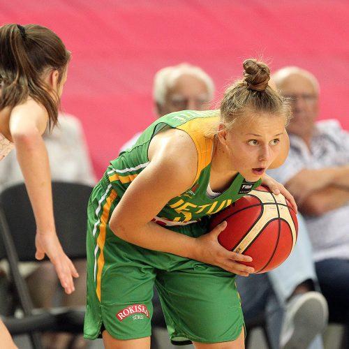 Lietuva – Vengrija 37:51. Merginų U16 EČ  © Evaldo Šemioto nuotr.