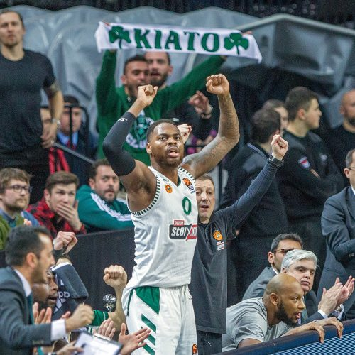 """Eurolyga: """"Žalgiris"""" – """"Panathinaikos"""" 82:69  © Evaldo Šemioto nuotr."""