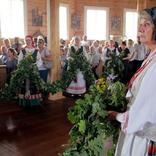 Žolinės šventimas Rumšiškėse  © Editos Radzevičiūtės ir Evaldo Šemioto nuotr.