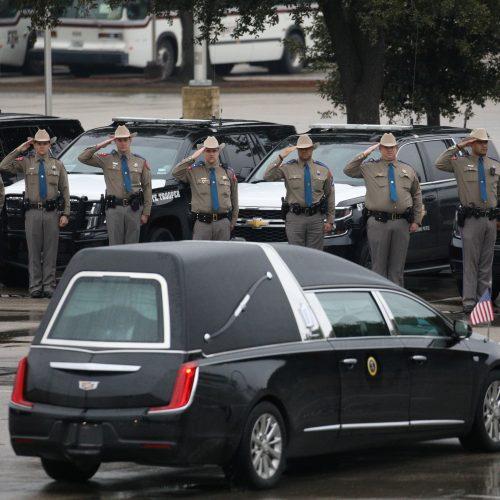 Dž. H. W. Bušas atgulė amžino poilsio  © Scanpix nuotr.