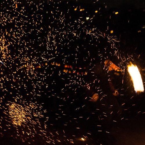 Šviesų šventė Nemuno saloje
