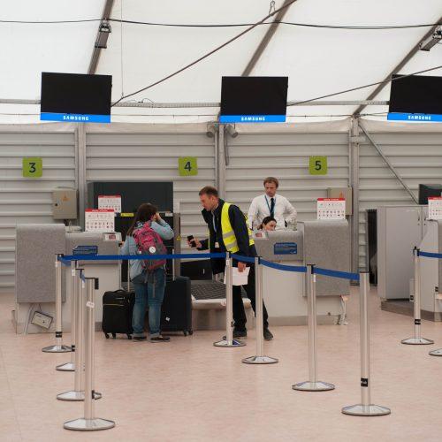 Kauno oro uostas atlaikė iššūkį  © Akvilės Snarskienės nuotr.