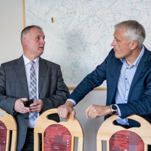 """""""Kauno energijos"""" spaudos konferencija"""