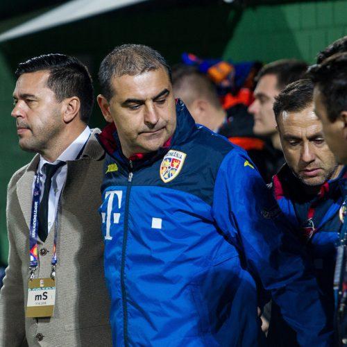 Futbolas: Lietuva-Rumunija 1:2  © Pauliaus Peleckio/Fotobankas nuotr.