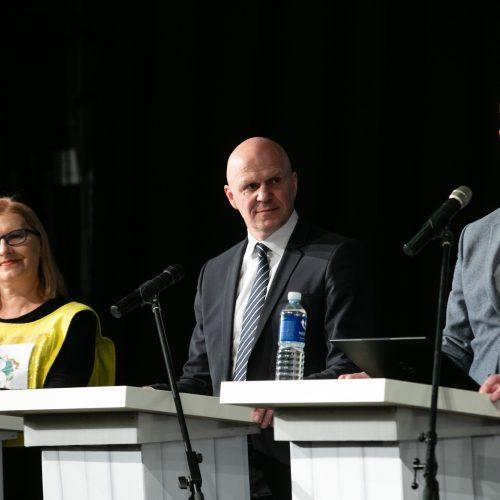 Kandidatų į Kauno merus debatai  © Teodoro Biliūno/Fotobanko nuotr.