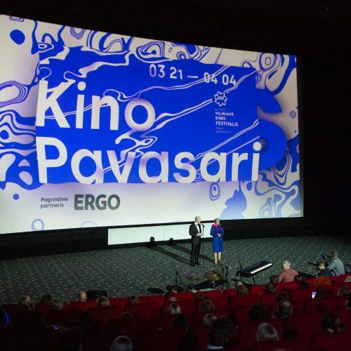 """Festivalio ,,Kino pavasaris"""" atidarymo ceremonija"""