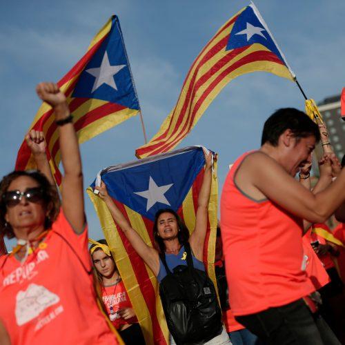 Tradicinės eitynės Barselonoje  © Scanpix nuotr.