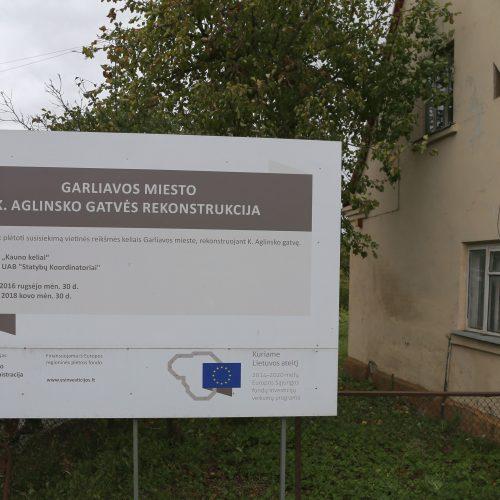 Garliavoje įamžintas K. Aglinsko atminimas  © Kauno rajono savivaldybės nuotr.