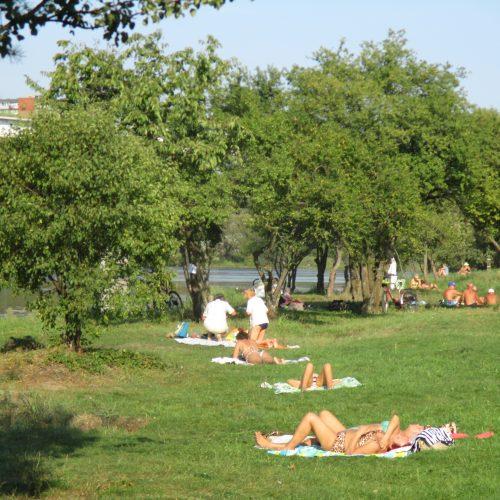 Panemunės paplūdimys  © Valdo Kasperavičiaus ir Dalios Zdanienės nuotr.