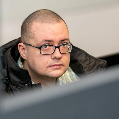 Nužudymu įtariamo A. Jegorovo teismas
