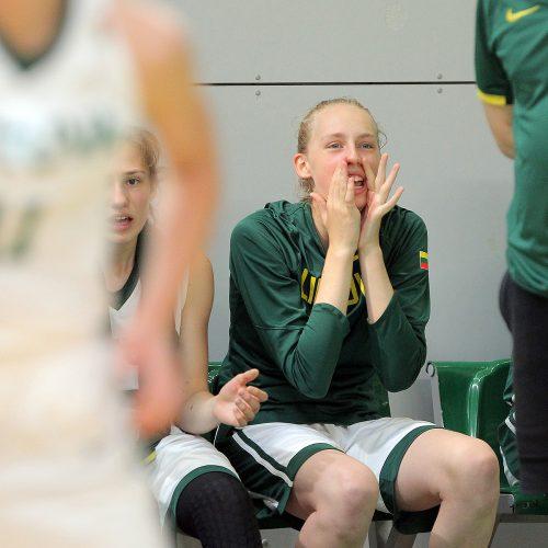 Lietuva U16 – Latvija U16 [merginos]  © Evaldo Šemioto nuotr.