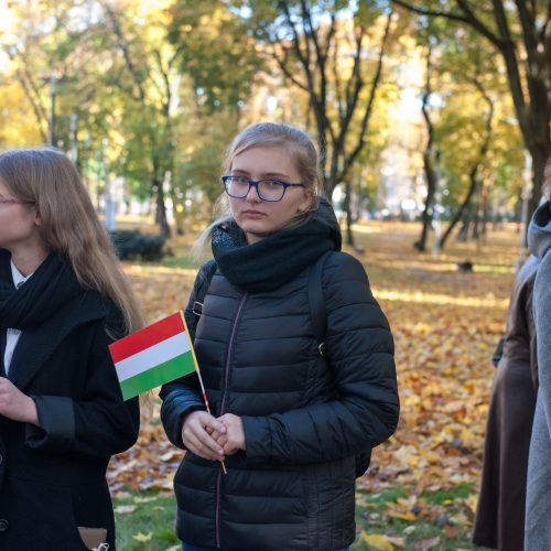 Vengrijos revoliucijos metinės  © Akvilės Snarskienės nuotr.