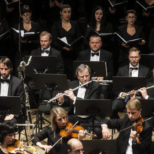 Naujas simfoninio orkestro sezonas  © BFL nuotr.