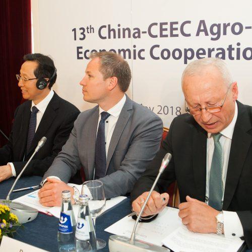 """Žemės ūkio ministrų forumas """"16+1""""  © BFL nuotr."""