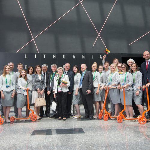 """Lietuvos nacionalinės dienos paminėjimas """"Expo 2017"""""""