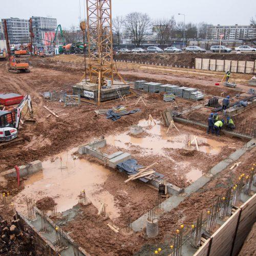 Naujos areštinės statybos Vilniuje  © V. Skaraičio / BFL nuotr.