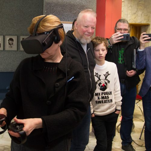 Sausio 13-osios įvykiai – virtualioje realybėje  © BFL nuotr.