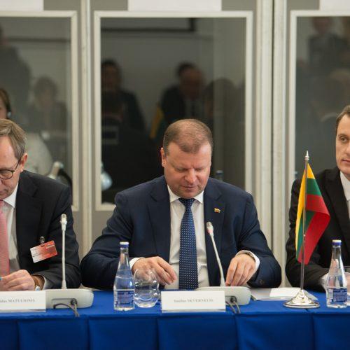 Vilniuje susirinko Baltijos ministrų taryba