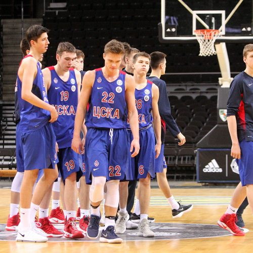 """Jaunimo Eurolyga: """"Žalgiris"""" – CSKA 82:65  © Evaldo Šemioto nuotr."""