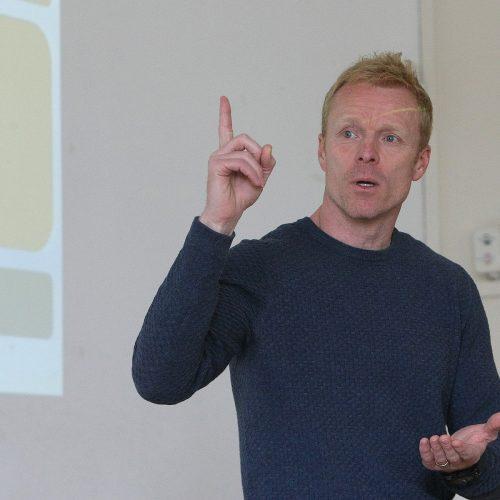 LFF seminaras vaikų treneriams  © Evaldo Šemioto nuotr.