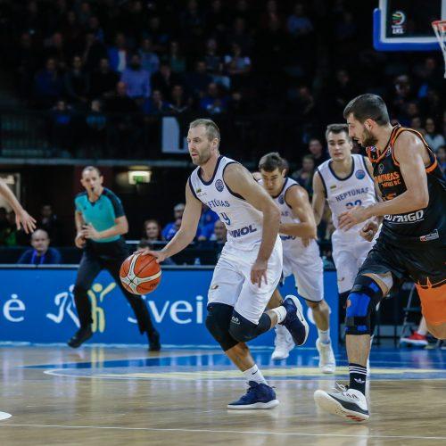 """FIBA: """"Neptūnas"""" - Patrų """"Promitheas"""" 82:83  © Vytauto Petriko nuotr."""