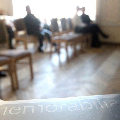 """Albumo """"Memorabilia"""" pristatymas KMN  © Evaldas Šemiotas"""