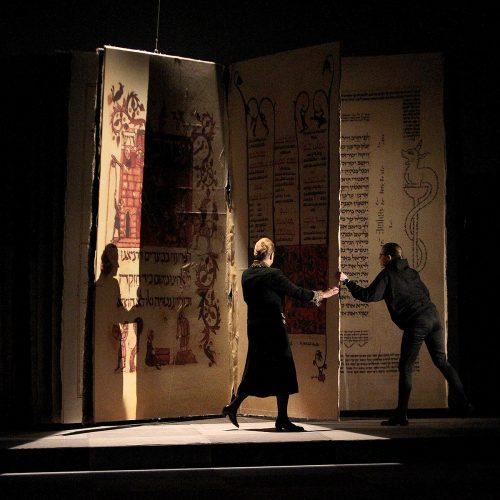 """Spektaklio """"Natanas Išmintingasis"""" pristatymas  © Evaldo Šemioto nuotr."""