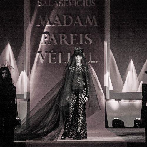 Dizainerio L. Salasevičiaus kolekcijos pristatymas  © Dainiaus Labučio, ELTA nuotr.