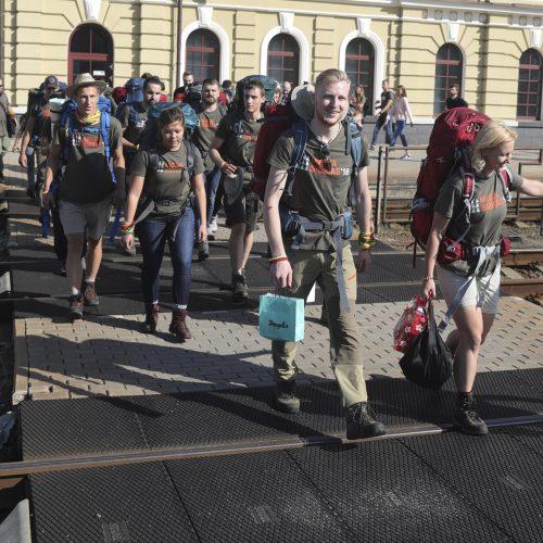 """Į Kazachstaną išlydėta """"Misija Sibiras"""" ekspedicija  © M. Morkevičiaus / ELTOS nuotr."""