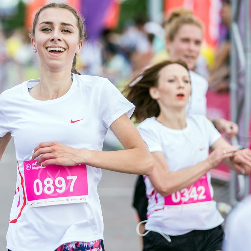 """""""Moterų bėgimas""""  © A. Didžgalvio nuotr."""