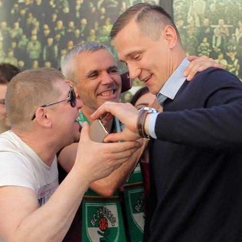 """""""Žalgirio"""" sutikimas Kaune  © Evaldo Šemioto nuotr."""