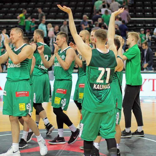 """LKL ketvirtfinalis: """"Žalgiris"""" – """"Nevėžis"""" 95:70  © Evaldo Šemioto nuotr."""
