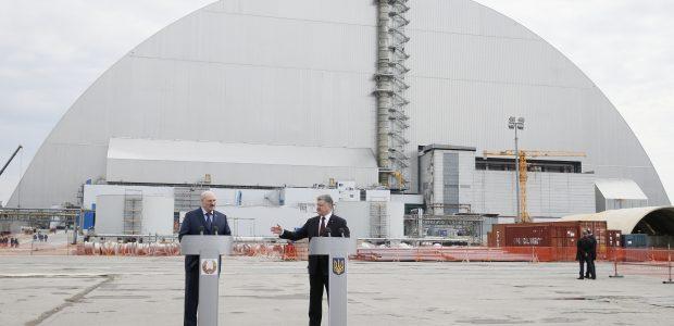 Minint Černobylio katastrofos metines susitiko Ukrainos ir Baltarusijos lyderiai